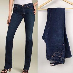 J BRAND Straight Leg Dark Wash Jean
